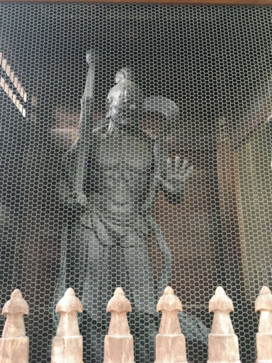 金剛力士像 乗蓮寺東京大仏 阿形(あぎょう)像