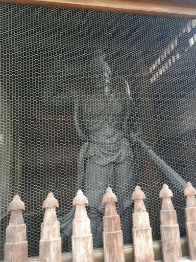 乗蓮寺東京大仏 金剛力士像